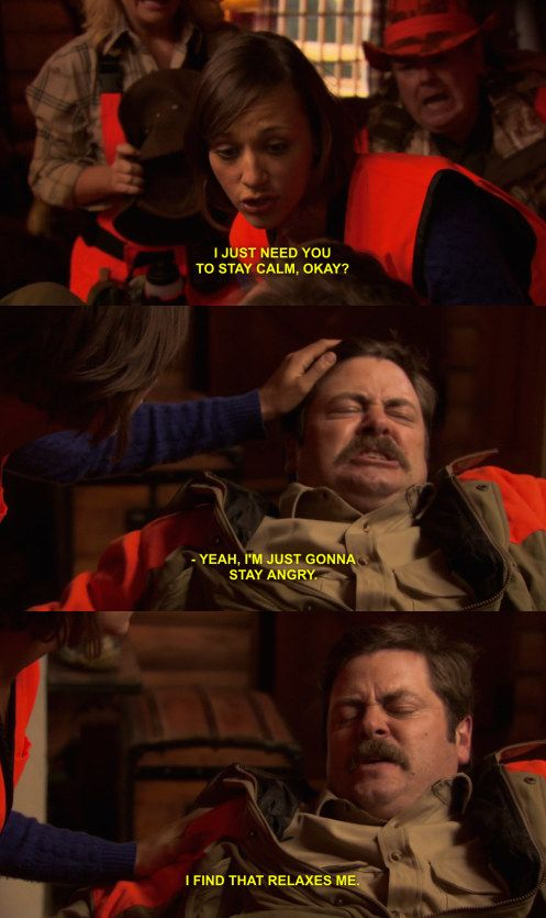 "When Tom shot Ron in the head: | 25 Times ""Parks And Rec"" Characters Had A Way Worse Day Than You"