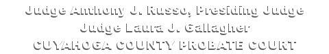 Probate Court of Cuyahoga County, Ohio - Web Docket