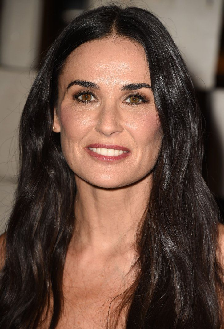 Pin for Later: You Will Not Believe What Celebrities Actually Do to Their Faces Demi Moore