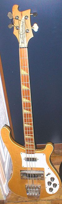 Rickenbacker 4001. Paul McCartney used one.