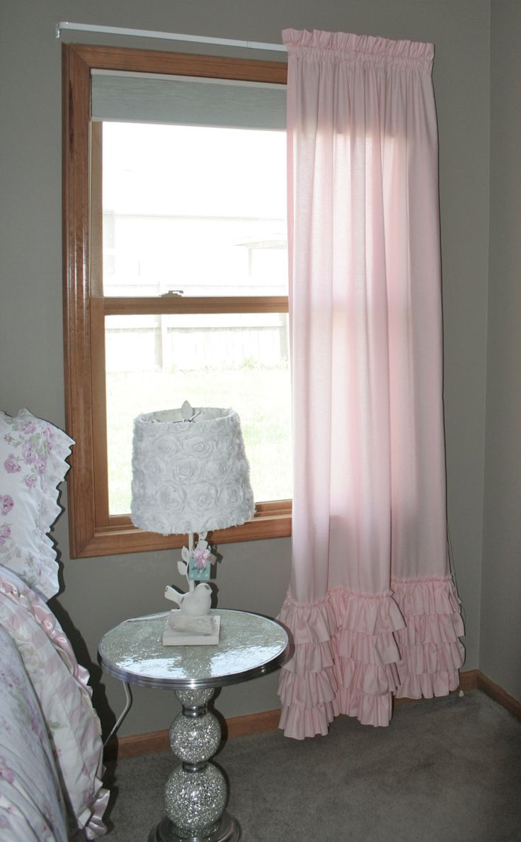 Light pink ruffled curtains - 25 Best Ruffled Curtains Ideas On Pinterest Ruffle Curtains Shabby Chic Curtains And Pretty White Girls
