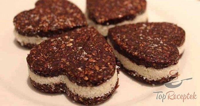 Egészséges Oreos keksz sütés nélkül