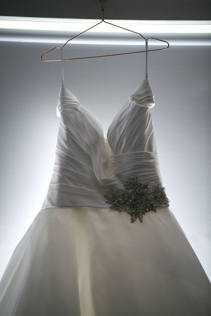 Allure Romance Wedding Gown Waist Detail