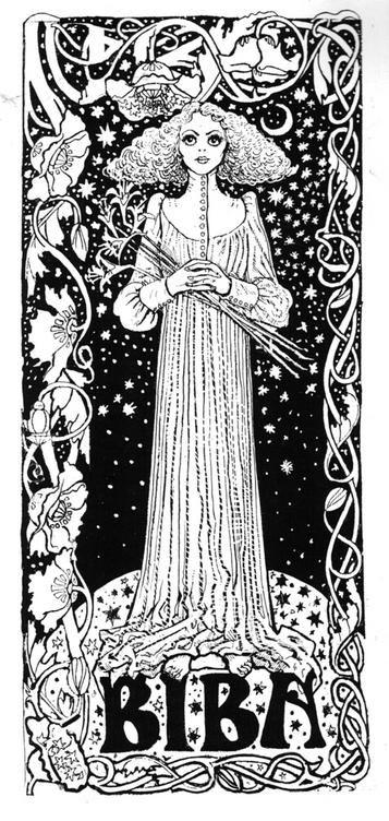 Chris Price illustration. IN BIBA