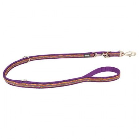 Red Dingo Dreamstream Purple multi-purpose dog lead 200 cm Medium - Red Dingo dog lead Red Dingo dog leads medium - globaldogshop.com