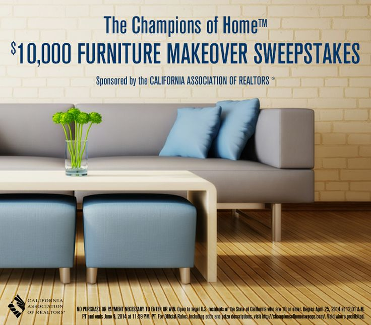 The Champions Of Home 10 000 Furniture Makeover Sweepstakes