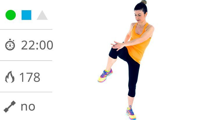 Fitness a Casa! 22 Minuti Di Allenamento Total Body a circuito