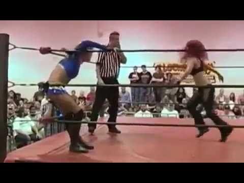 Women Wrestling - Sassy Stephanie vs TNA Star Reby Sky aka Reby Hardy #260
