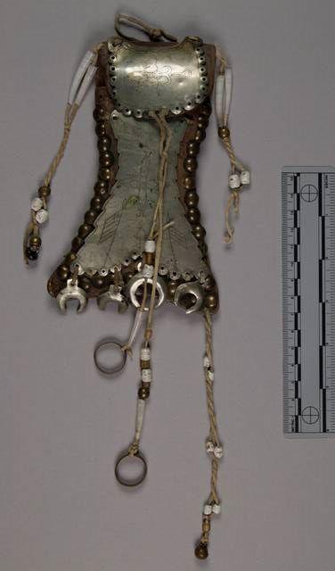 German silver pouch, NMNH