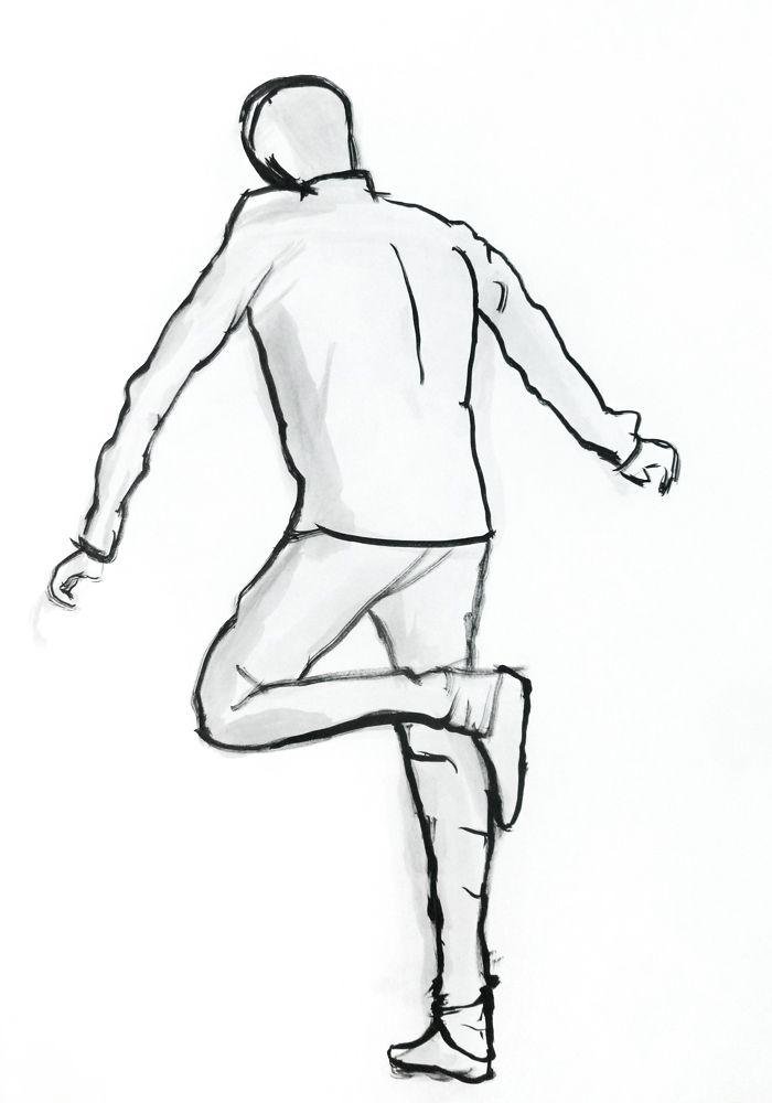Soraia Morgado. Tinta-da-china s/ papel, 59,4 x 42 cm