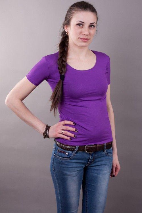 Футболка удлиненные рукава, фиолетовая мод.10161210 Размеры: 44-58 Цена: 150 руб.  http://optom24.ru/futbolka-udlinennye-rukava-fioletovaya-mod10161210/  #одежда #женщинам #футболки #оптом24