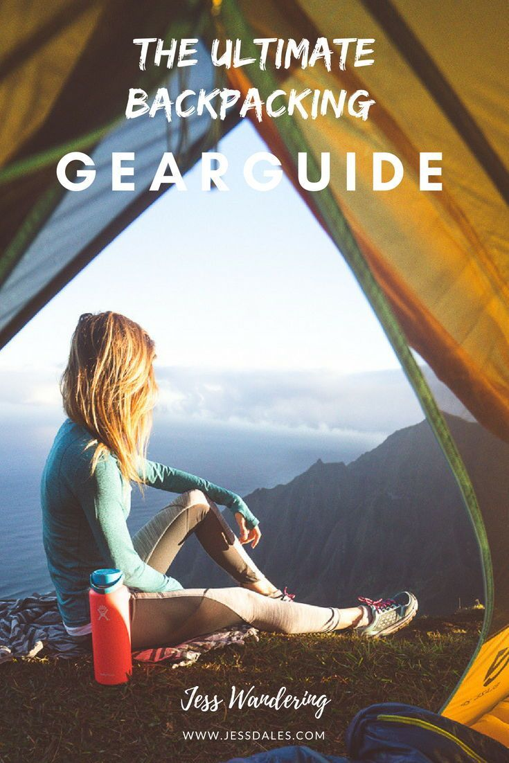 3557ff6b3 Sleeping Under the Stars: Backpacking Gear Guide | Jess Wandering ...