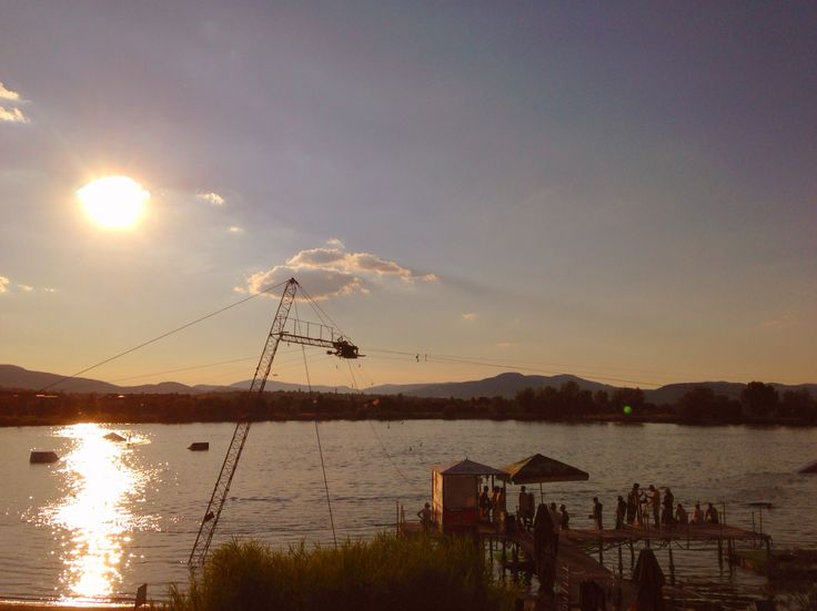 Omszk wakeboard centrum view