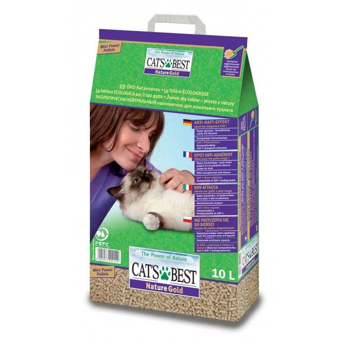 Litière Cat's Best Nature Gold - Litière végétale pour chat - / wanimo