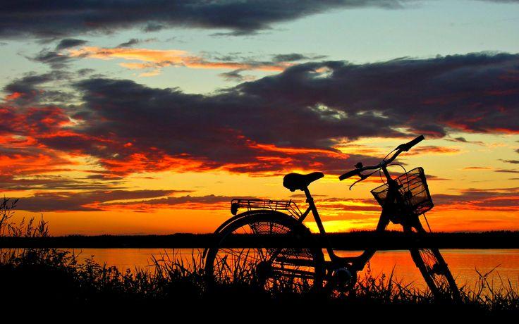 Beautiful Desktop Sunset Nature Wallpaper Background