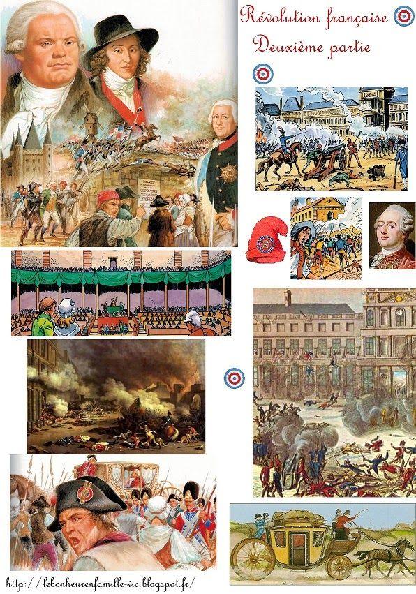 Le bonheur en famille: La révolution française, deuxième partie...