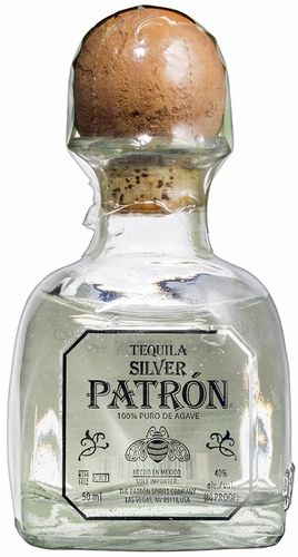 MINI SIZE Patron Silver Tequila 50ML
