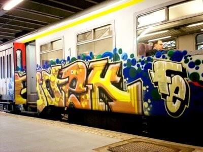 Graffiti Train Bombing Game