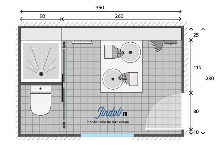 Exemple Plan De Salle De Bain De 9m2 Plan Salle De Bain Salle De Bain Grande Salle De Bain