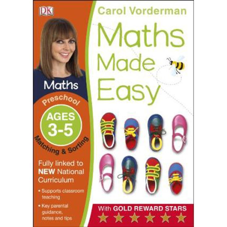 Buy Maths Made Easy Matching and Sorting - Ages 3-5 Preschool by Carol Vorderman online from The Works. Visit now to browse our huge range of products at great prices.