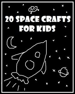 Well, my boy ADORES everything about SPACE!!! So here is a set of great space crafts to get him all excited!