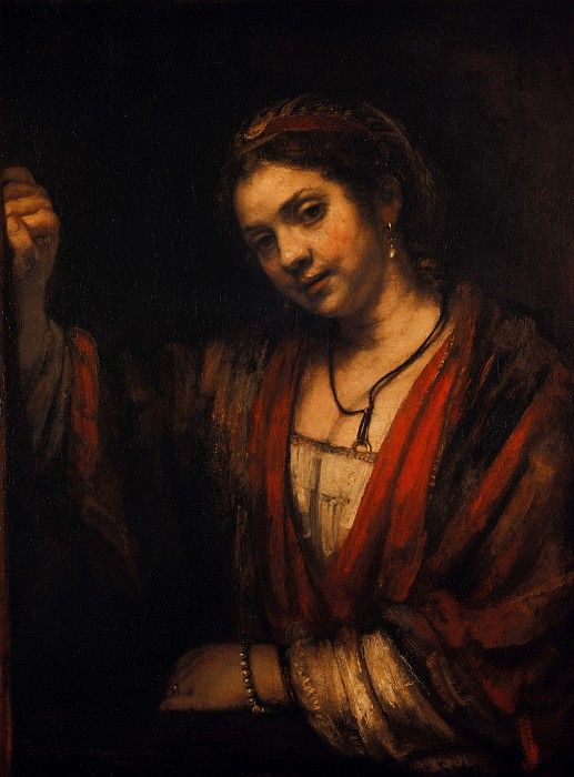 Рембрандт (1606-1669) - Портрет Хендрикье Стоффельс. Часть 4