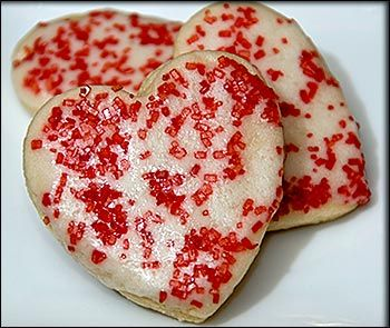 heart sugar cookie