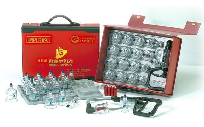 HANSOL CUPPING SET Massage Acupuncture 19CUPS #HANSOL