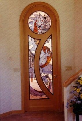 Dragon Door - Readeru0027s Gallery - Fine Woodworking & 338 best Arched Doors images on Pinterest | Arched doors Doorway ... pezcame.com