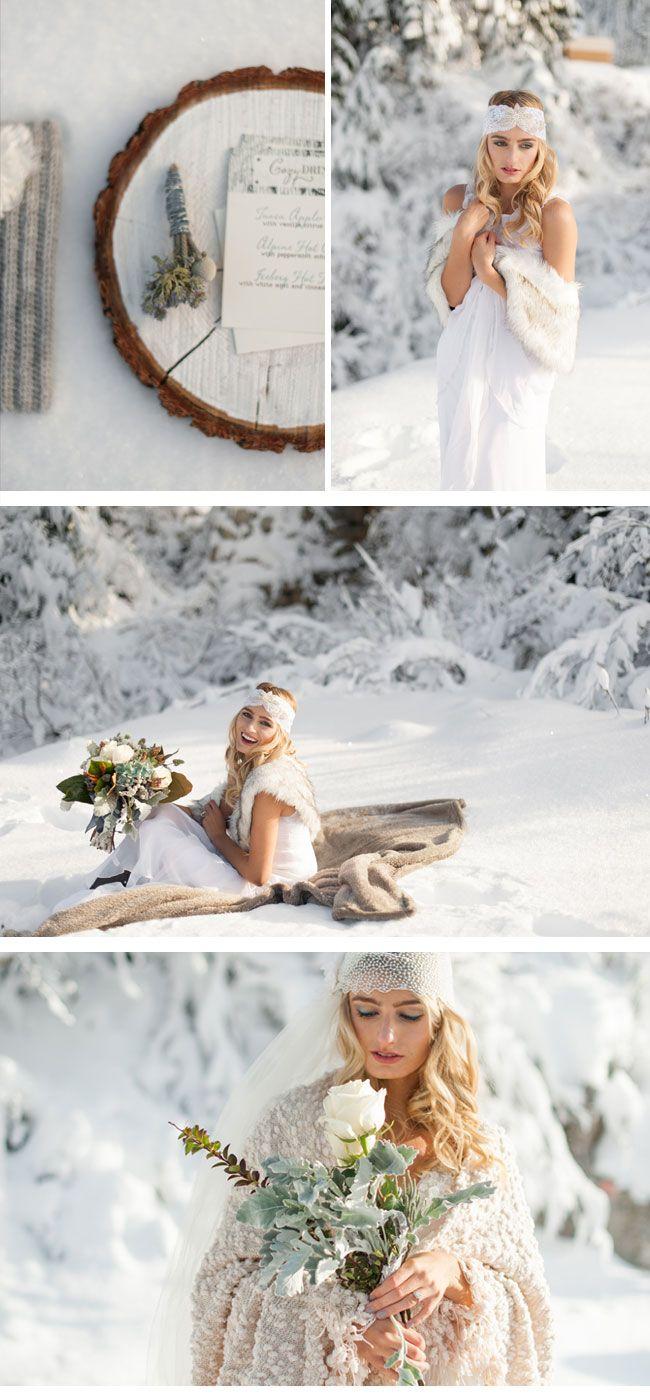 Winterhochzeit Inspirationen von Blue Rose Photography