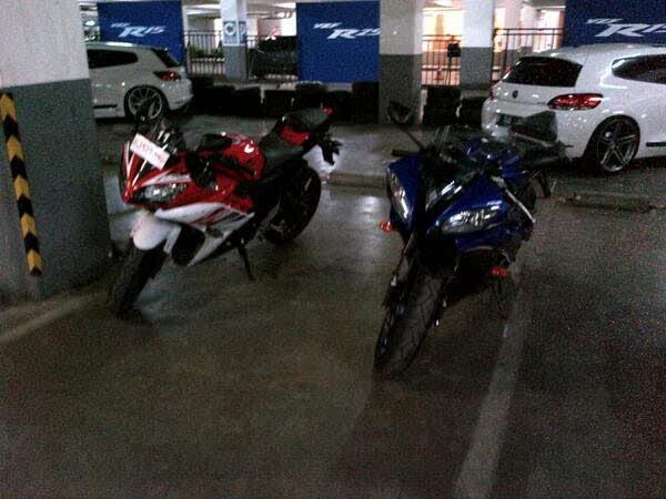 Yamaha R15 dan Yamaha R6