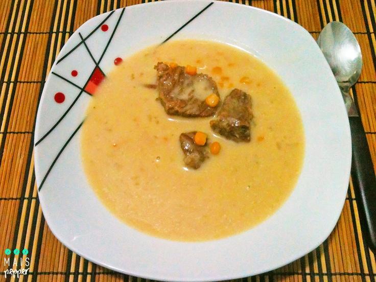 Sopa da Alegria com Milho e Carne (+ Vono)