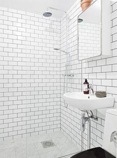 litet badrum kakel - Google Search