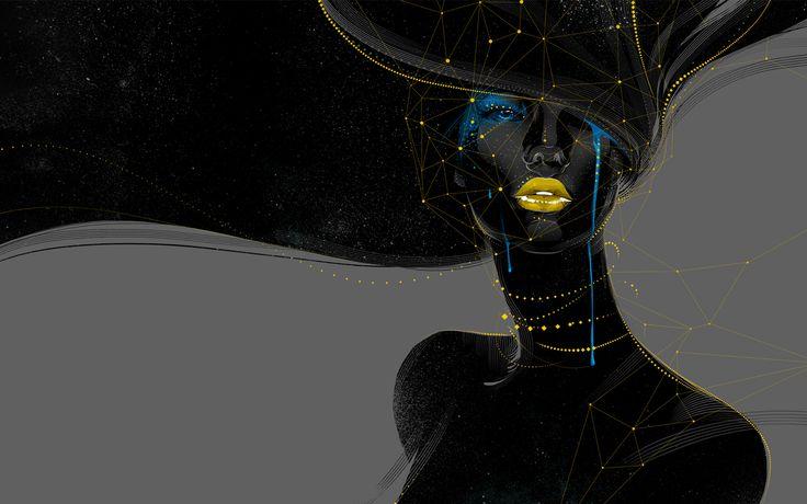 Dark girl by xnhan00.deviantart.com on @DeviantArt