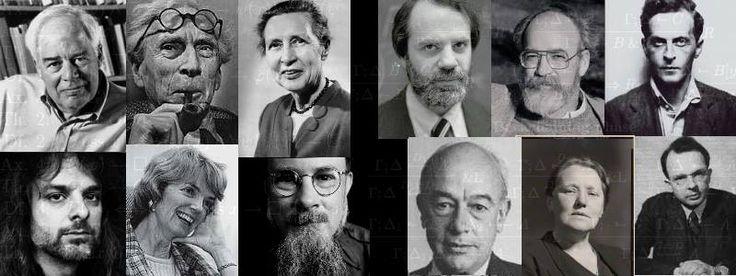 Analytic Philosophers: Richard Rorty, Bertrand Russell, Suzanne Langer, Saul Kripke, Daniel Dennett, Ludwig Wittgenstein, David Chalmers, Patricia Churchland, David Lewis, W.V. Quine, Susan Stebbing, Rudolf Carnap.