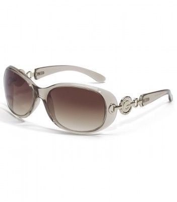 Óculos Guess Women's Contoured Logo Sunglasses Grey #Guess#Óculos