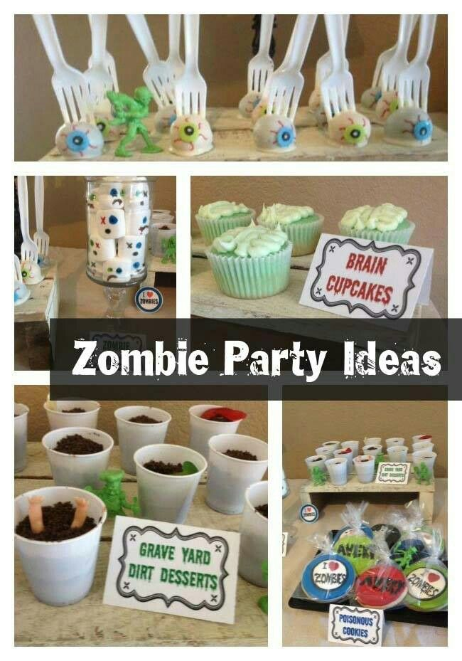 Zombie party.... troy 30th? 40th??