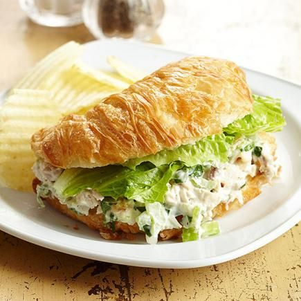 Try our recipes for chicken salad sandwiches, wraps, meatball sandwiches, reuben sandwiches, stuffed cheesesteaks and other easy, hearty sandwiches.