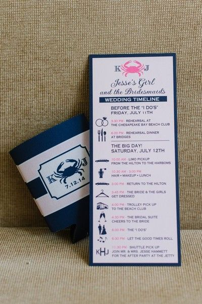 Adorable wedding timeline for #bridesmaids {Natalie Franke Photography}