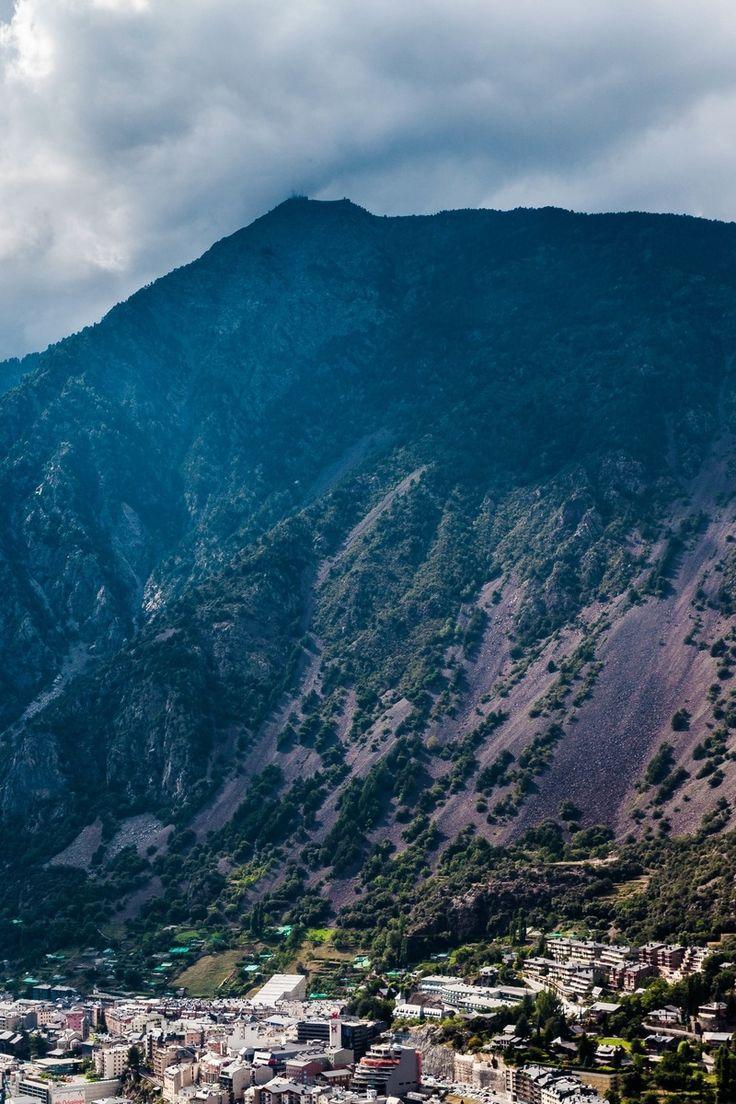 Green Mountain Touching Clouds
