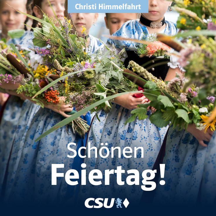 Heute ist Mariä Himmelfahrt - in vielen Teilen Bayerns ein Feiertag. Traditionell werden heute die Blumen und Heilkräuter gesegnet. #Brauchtumbrauchts