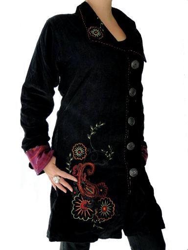 Veste fulvati By swamee. Des vêtements ethniques chics pour un look différent … Rendez-vous sur notre site www.echoppe-du-monde.com pour découvrir notre e-boutique exotique.