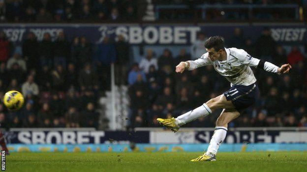 West Ham 2-3 Tottenham 25/02/2013  Gareth Bale