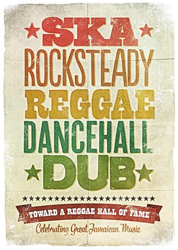 Shades of Reggae by Panda , via Behance