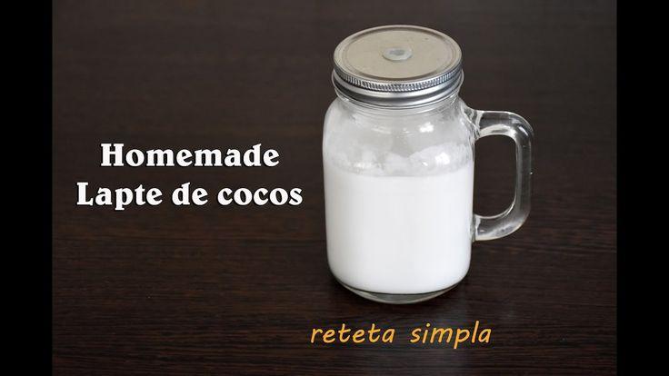 Cum sa faci lapte de cocos