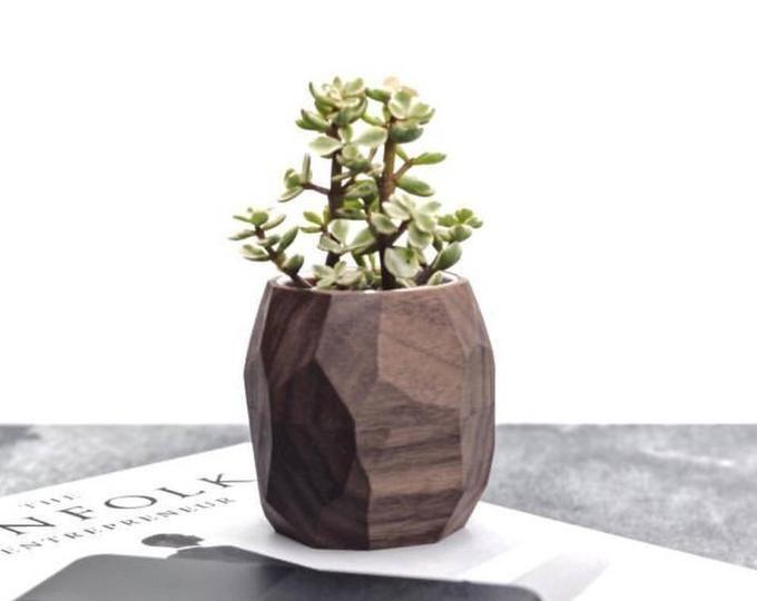 Ceramic Planter Succulent Pots Desk Accessories Br…