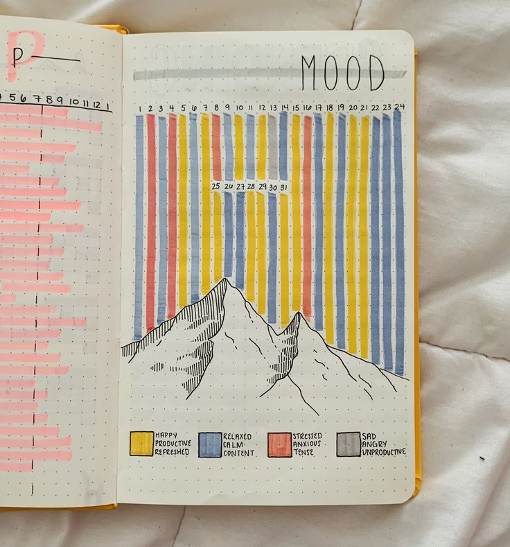 Mood Tracker  Bullet Journal