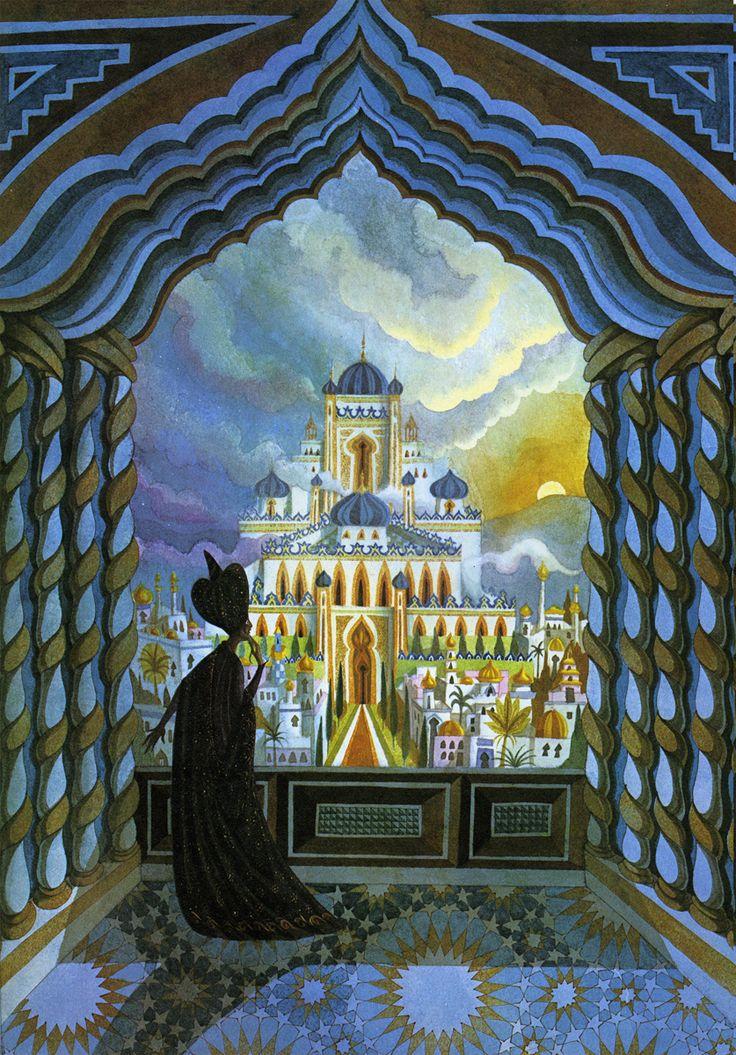 4th grade symphony project. Mosaic? Depth? Visions of the Jinn: A Visual History of Arabian Nights | Brain Pickings
