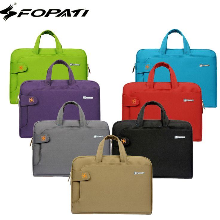 FOPATI 13 13.3 14 15 15.6 Inch Laptop Sleeve bag Men Women HandBag Briefcase Hand Carrying Bag Case Business Notebook bag