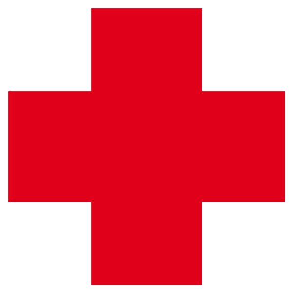 Adhesivo de vinilo Cruz Médica, Cruz Roja. Para botiquines o señalización de…